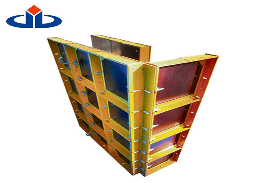 Heavy Duty Modular Steel Column Formwork Lightweight Formwork Systems